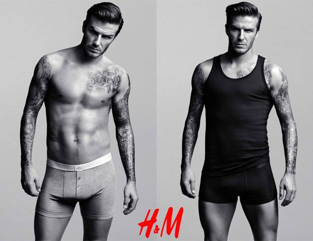 David Beckham for H&M, testimonial