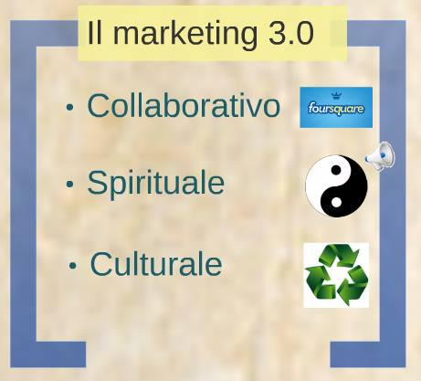 I nuovi tipi di Marketing 3.0: collaborativo, culturale e spirituale